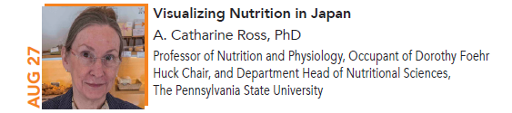 A. Catharine Ross, Visulalizing Nutrition in Japan