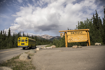 Entrance to Denali National Park