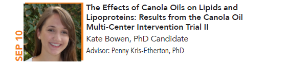 Kate Bowen, The Effects of Canola Oils on Lipids and Lipoproteins: Results from the Canola Oil Multi-Center Intervention Trial II