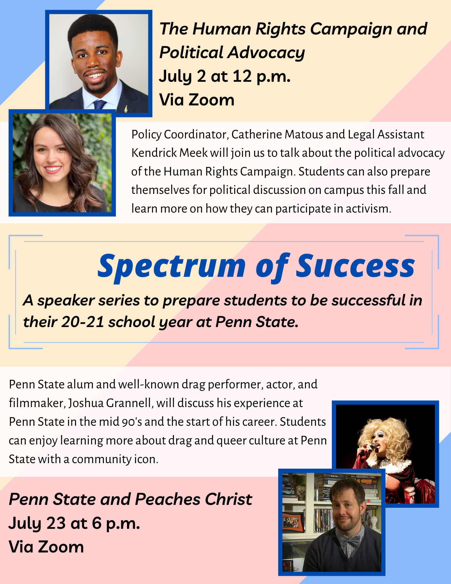 Spectrum speaker series