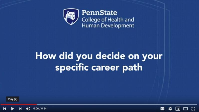 specific career path