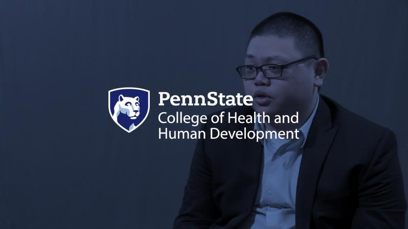 Raymond Chen - Penn State College of Health and Human Development logo