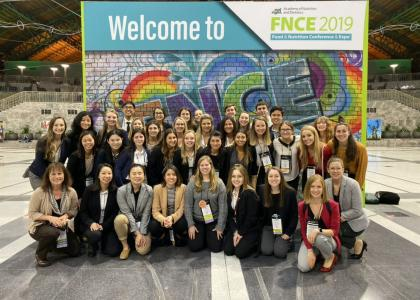 34 Penn State Nutritional Sciences students at FNCE conference