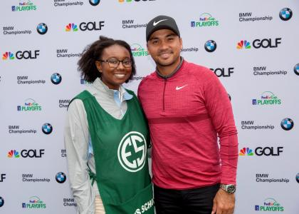 Brooklyn Gabriel meets Jason Day