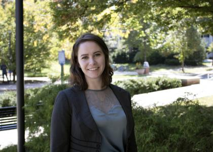 Health policy and administration student and Schreyer Scholar Hannah Ross