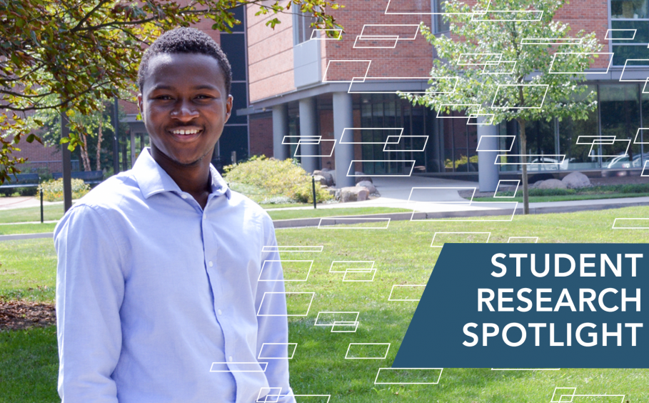 Manny Houndo - Student Research Spotlight