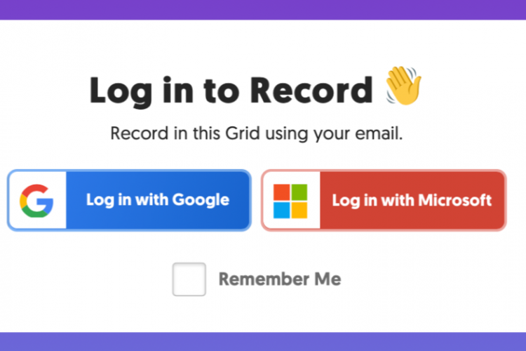 FlipGrid Login screenshot