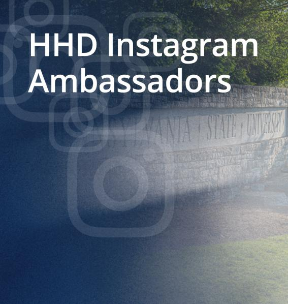 HHD Instagram Ambassadors
